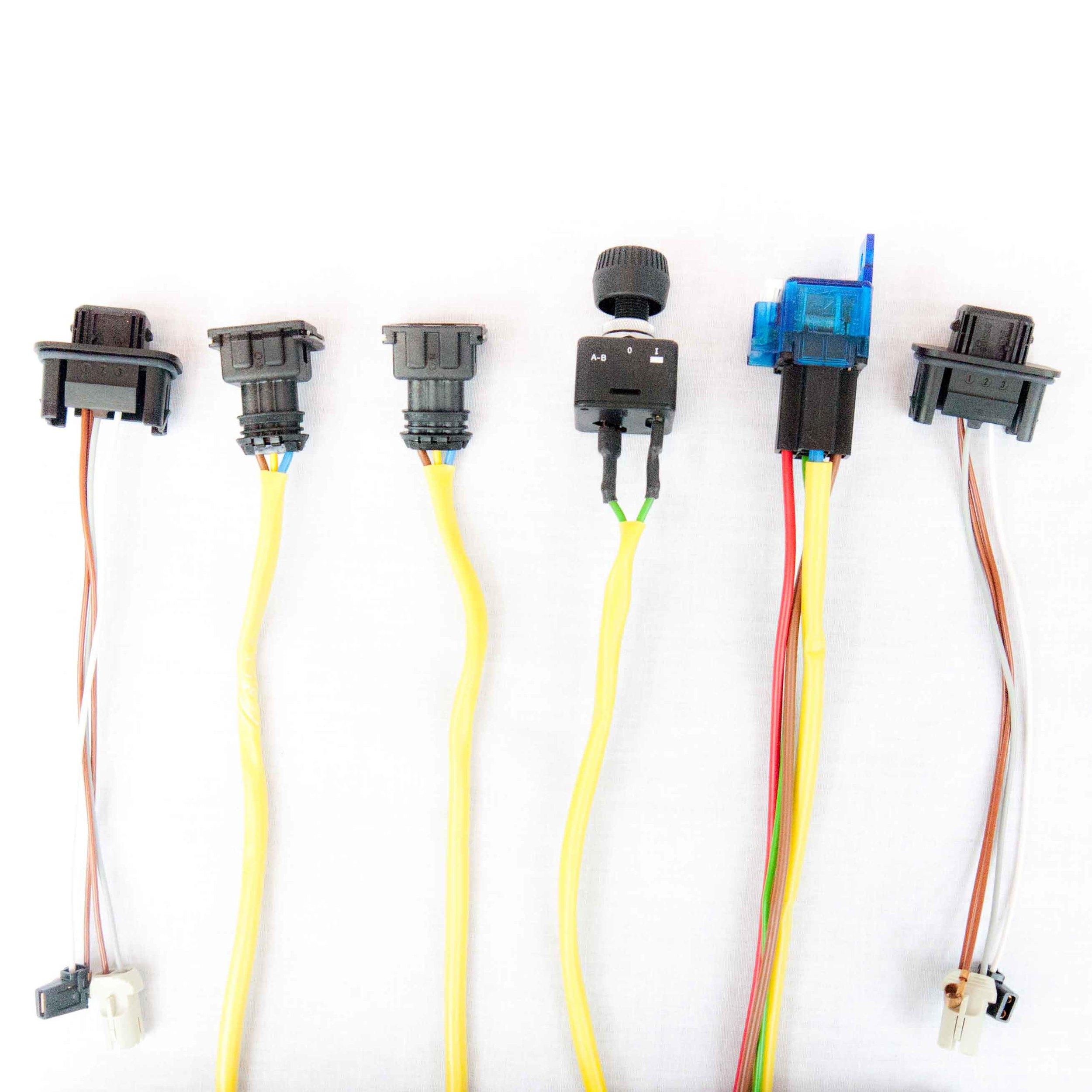 hella 148541001 rallye 4000 wiring harness 87202 partshubdirect rh partshubdirect com Hella Plugs and Sockets wiring a hella plug
