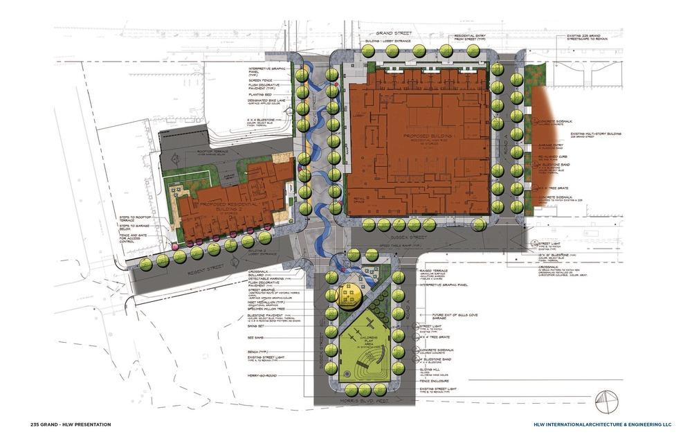 site plan 235 grand