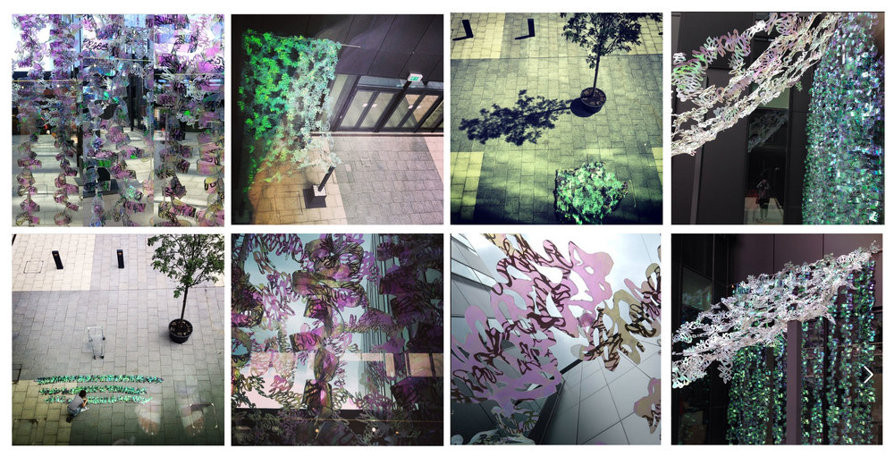 Iridescent Immersions onTwitter and Instagram.                                         #manchesterschoolofart #alwaysallwaysland #ursularoserae