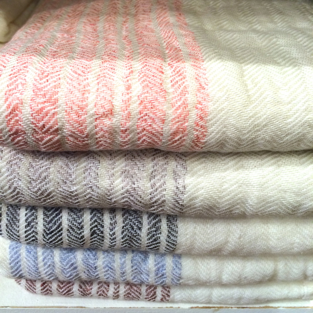 the flax organics line of kontex towels.
