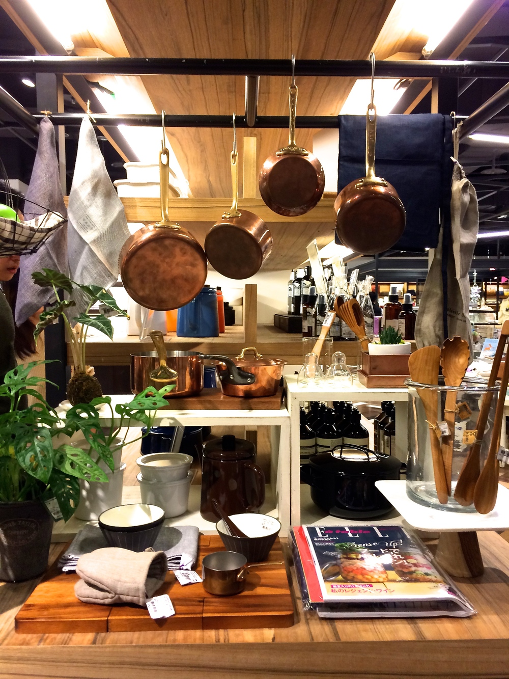 some of those kitchen goods i was talking about. very japanese-brooklyn, if you know what i mean.