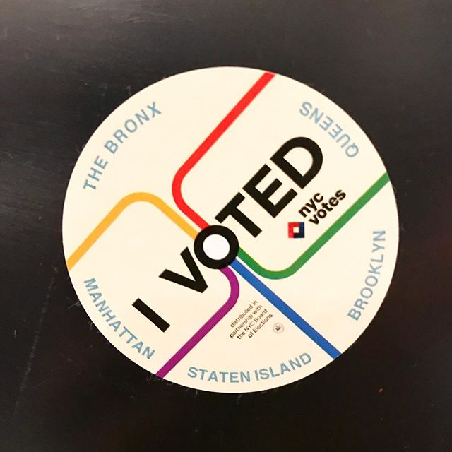 There is still time to vote! #nycvotes