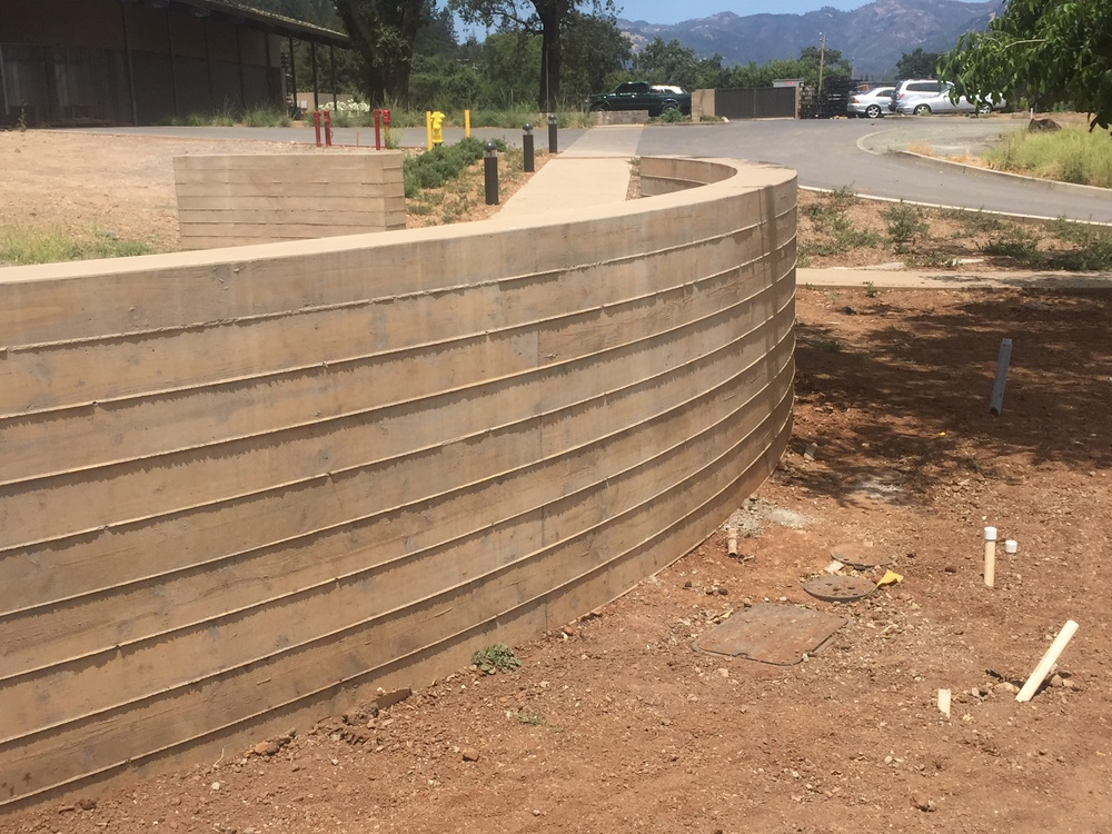 Board Form Walls At Cairdean Estate Winery Slf Concrete