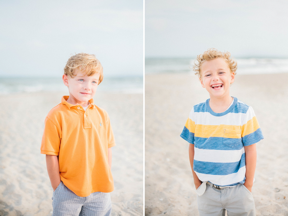 Wilmington NC Family Photographers - Topsail Beach