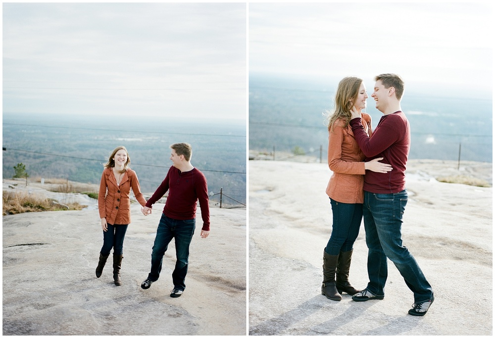 Mountain Top Engagement | Wynona Benson Photography