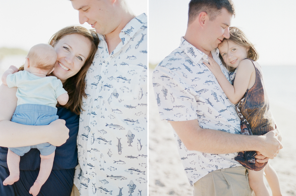 Family Portraits on Topsail Beach