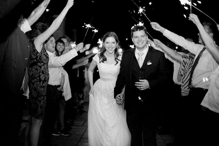 Utah Wedding Photographers Sparkle Exit