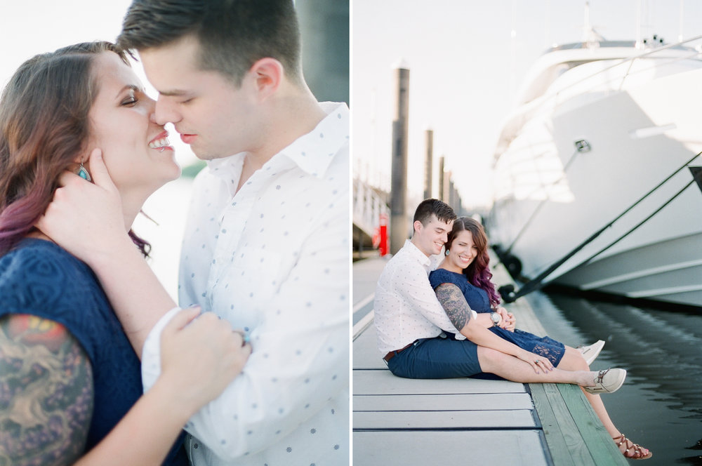 Nautical Engagement Photographer