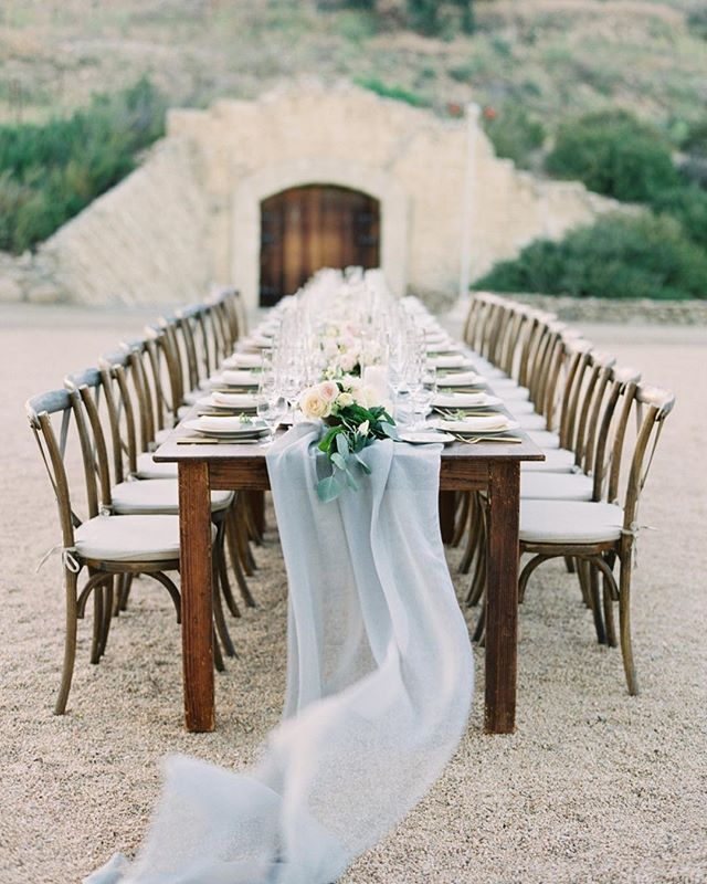Claire & Derek's intimate @sunstonewinery wedding is up on @magnoliarouge today! Visit link in profile to see all of the romantic details.  Photography: @kelseaholderphoto  Floral Design: @noonansdesigns  Rentals: @partypleasers  Linens: @latavolalinen  Lighting: @ambientevent  Catering: @omnicateringsb  Cake: @solvangbakery  Hair & Makeup: @makeup_amanda  Stationery: @littlenorthcompany  Music: @groypresents