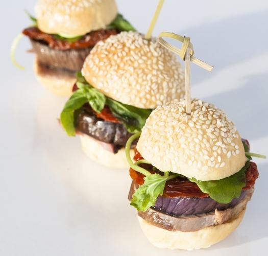 MAROCCO burger (épaule agneau confite au cumin & légumes grillés)