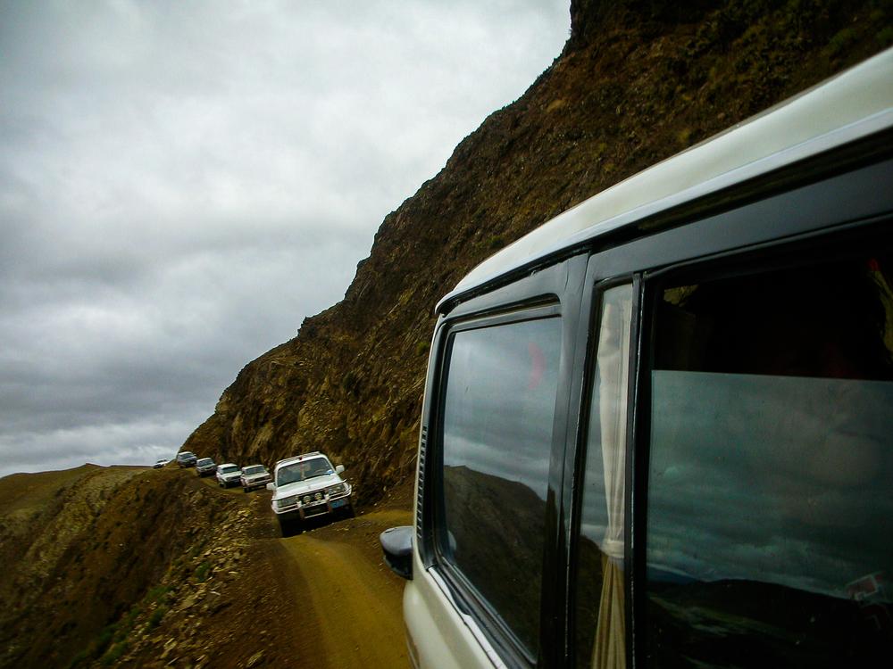 Road to Everest, Tibet, 2007