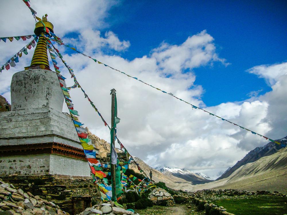 Rongphu Monsastery, Tibet, 2007