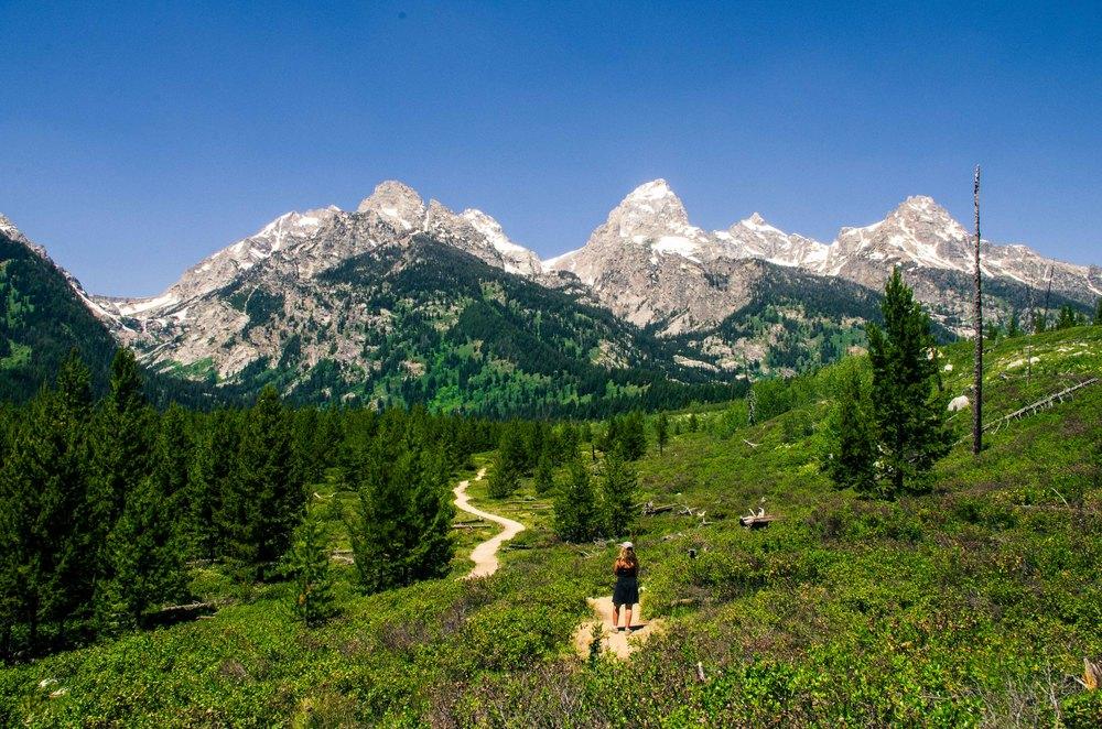 Taggart Lake Trail, Grand Teton National Park, 2014