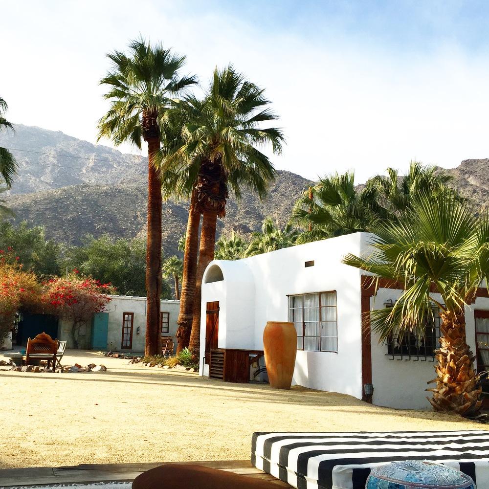 Korakia Pensione. Palm Springs, California