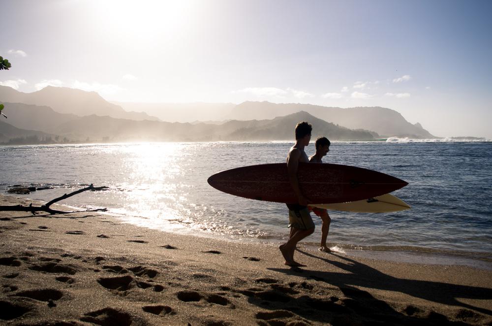 Hanalei Bay, Kauai, HI 2015