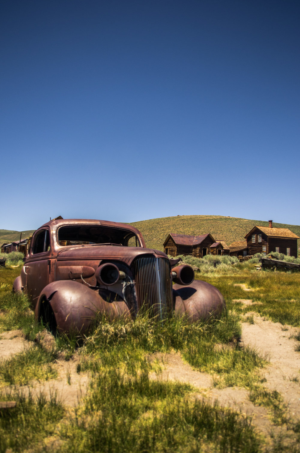 The Ghost Town of Bodie. Bodie, California