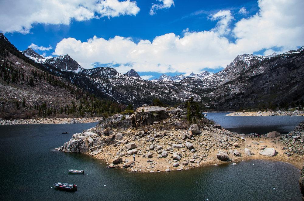 Sabrina Lake. Bishop, California