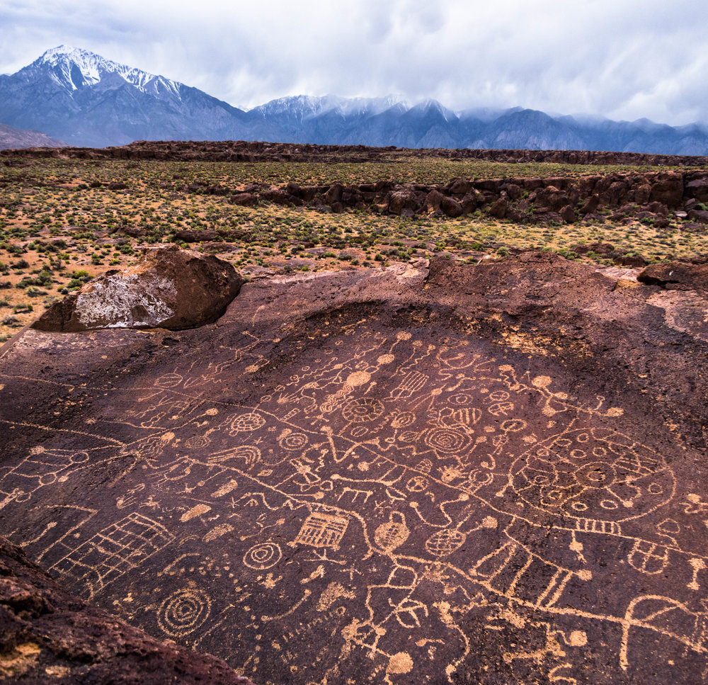 Petrogloglyph.   Location Unknown