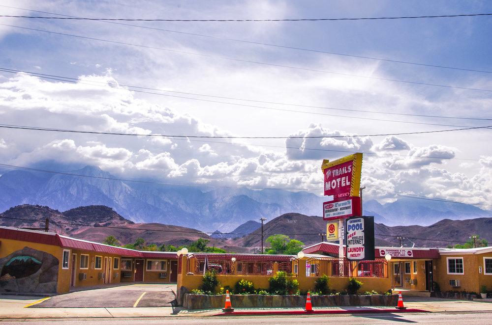The Trails Motel. Lone Pine, California