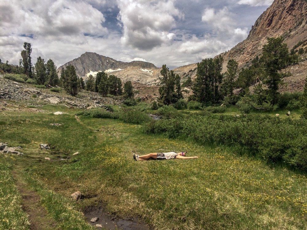 Civil disobedience. Twenty Lakes Basin, California