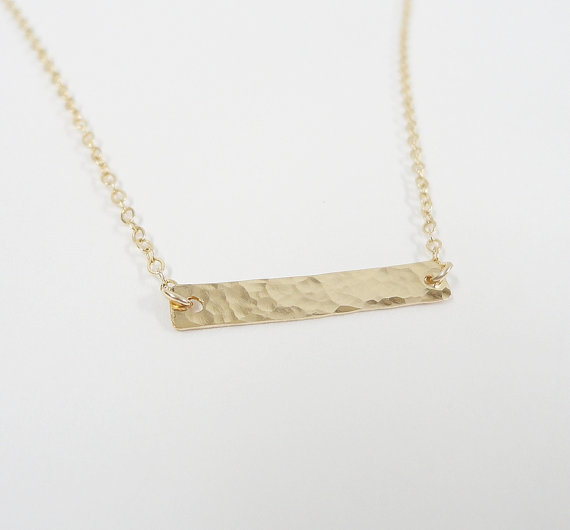 vertical listing necklace gold nlsh rose customizable en wedding date il bar numeral sg roman