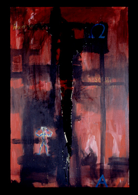 Absolut: 7' x 4.6' - 1990 Acrylic, acrylic polymer on canvas