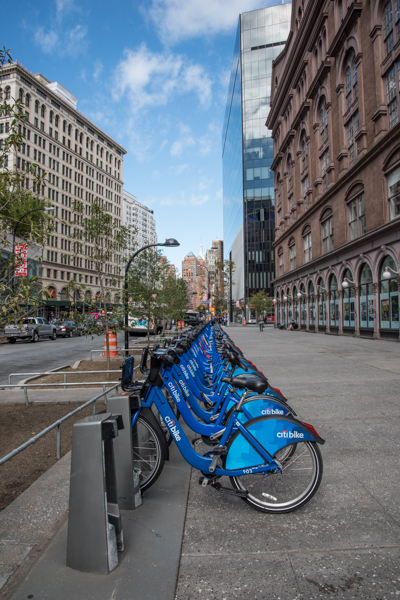 Citibike, Astor Place