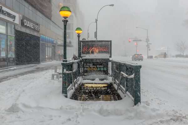 Subway entrance, 14th Street