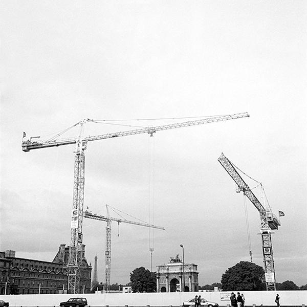 Cranes, Paris, France