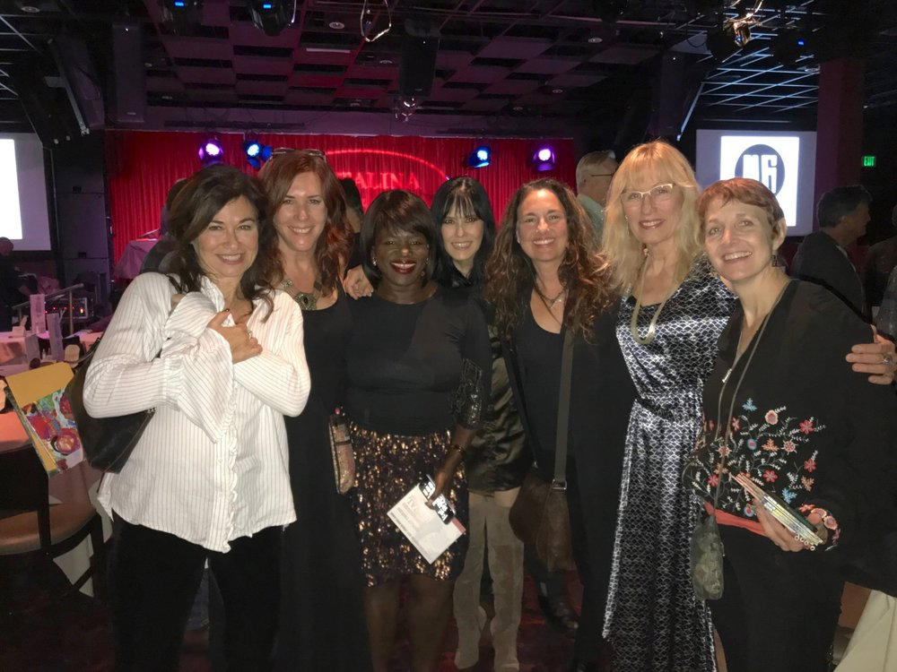 Last night at the Catlina Club w/ Amanda Abizaid, Douyé, Diana Dilee Maher, Starr Parodi, Darlene Koldenhoven, Susan Picking