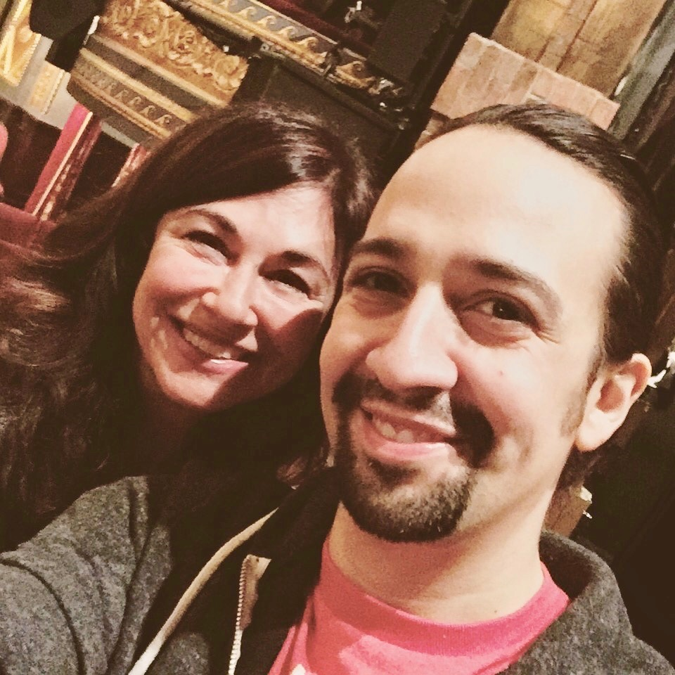 """Mr. """"Room Where It Happens,""""Lin Manuel Miranda, Songwriter. I think he shifted the Universe a bit."""
