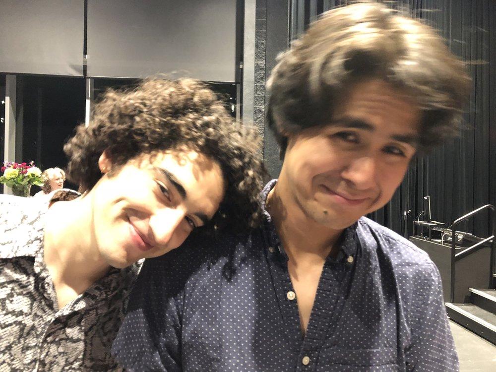 Adam and Chris