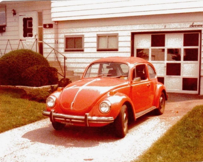 She was an automatic. Can you believe that? The only automatic Beetle I ever encountered.