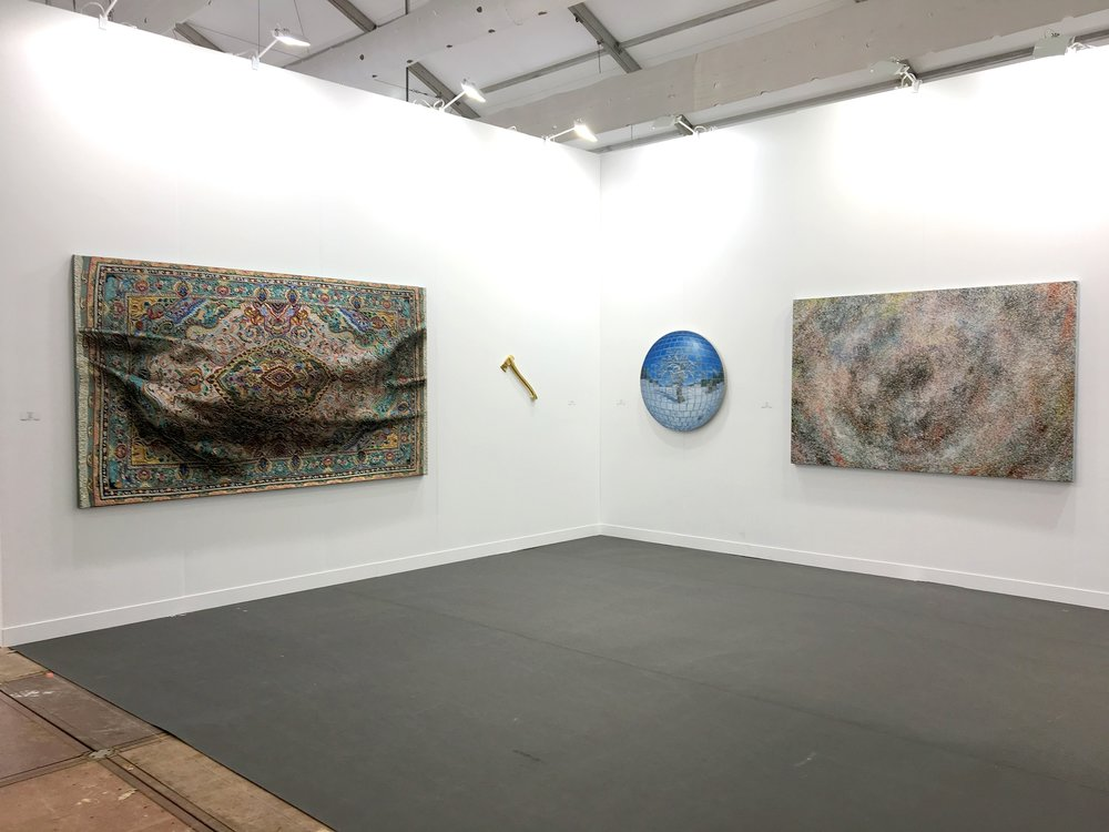 Golden Axe    in Hong Kong with Marc Straus at Art Central 2018 with artists Jong Oh, Clive Smith, Antonio Santin, Doug Argue, Anna Leonhardt, Xi Zhang