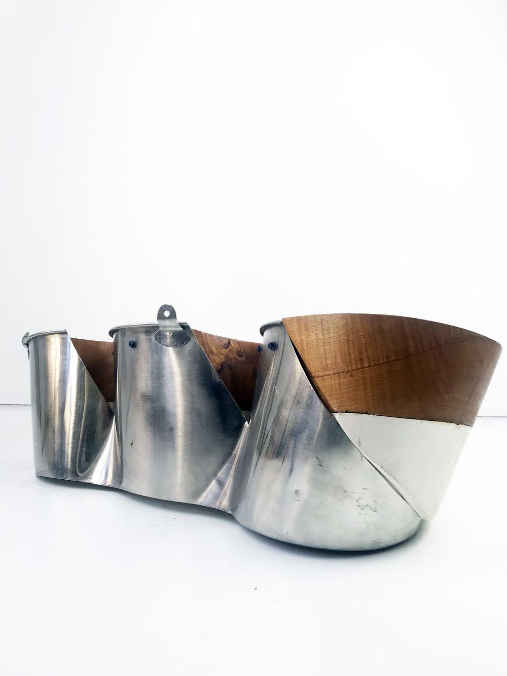 Steel Bucket, Plaster