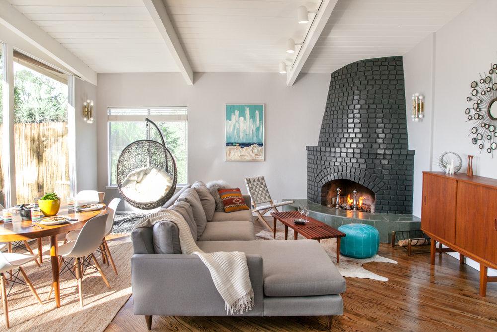 3bdr vacation home, aptos, ca  light remodel, interior decor, budget 50K