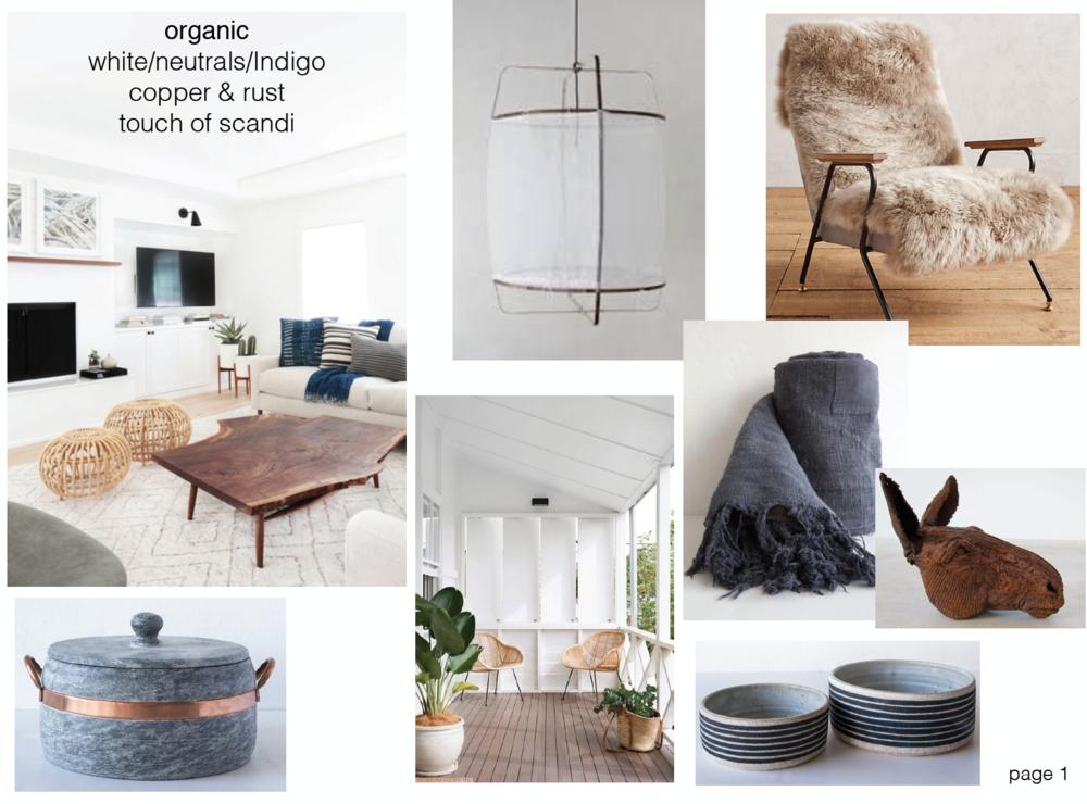 concept boards - Organic