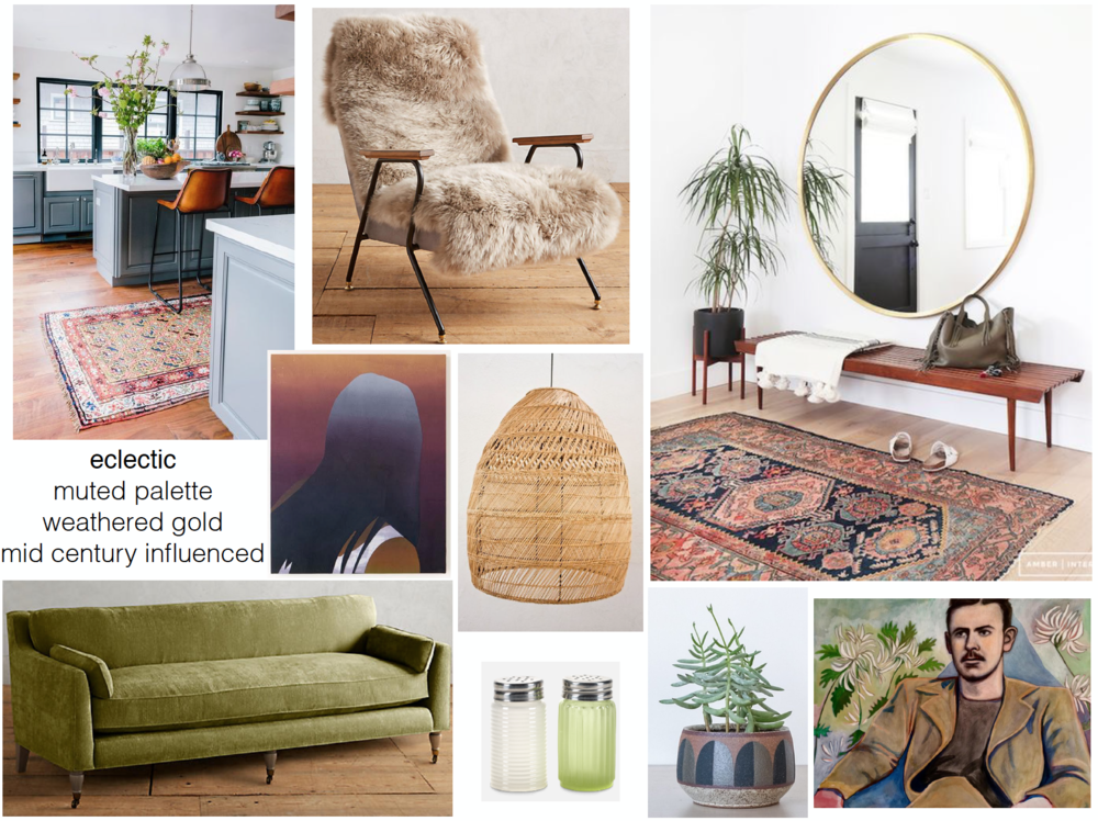 concept boards - Eclectic