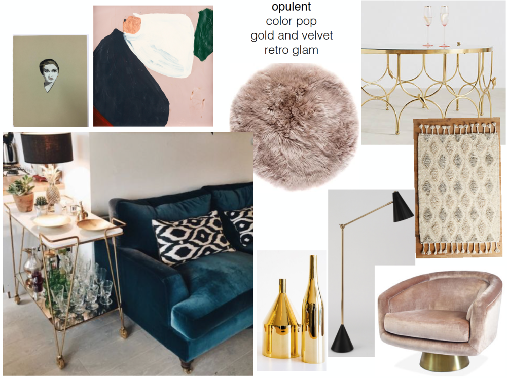concept boards - Opulent