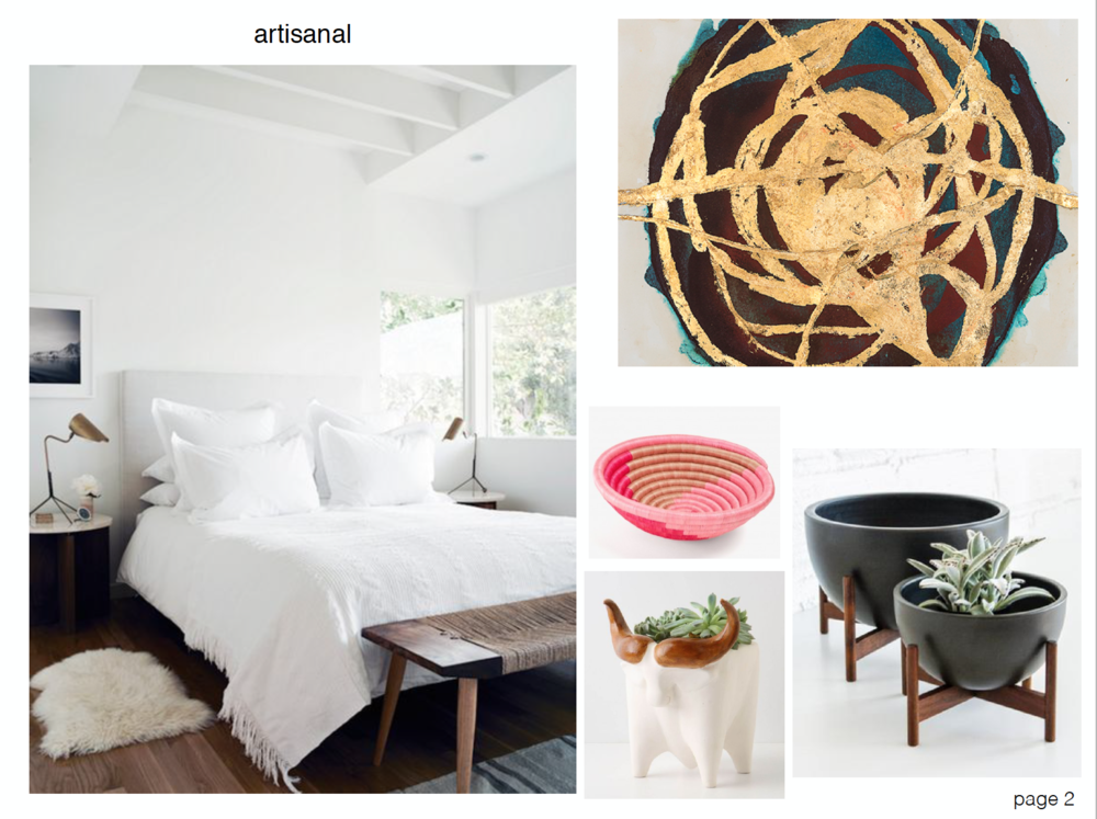 concept boards - Artisanal