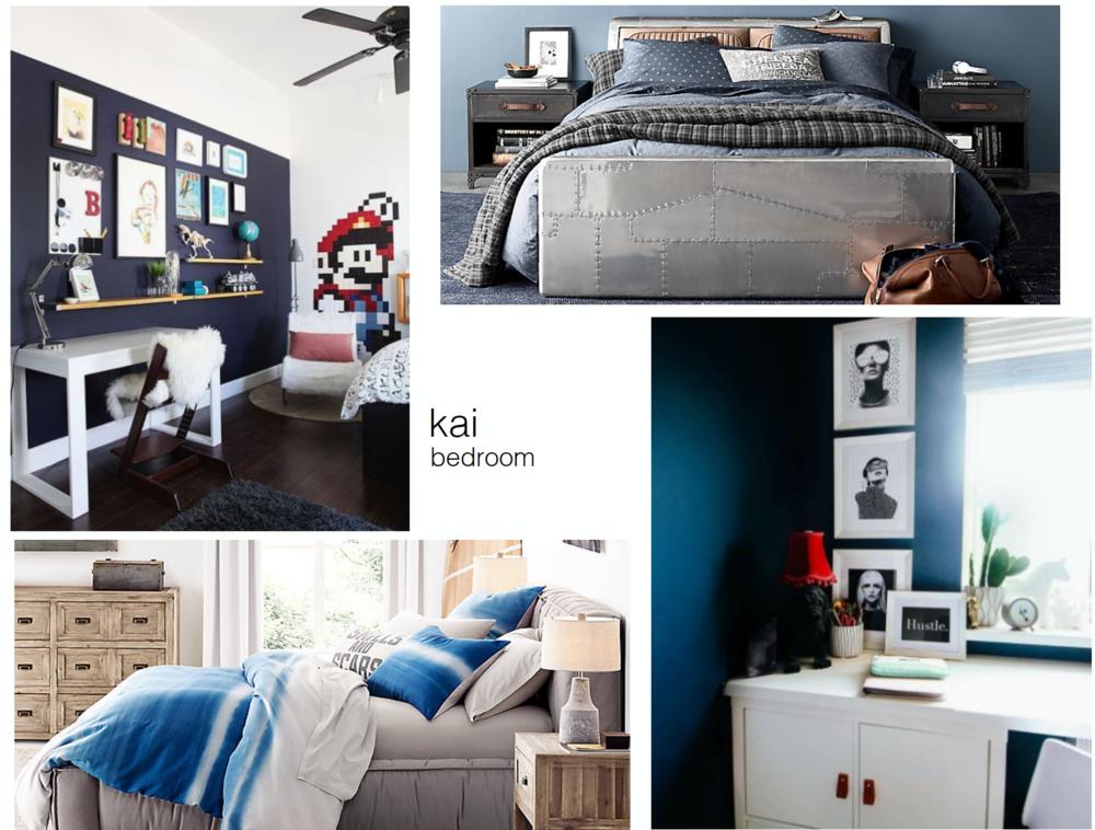 concept boards - Teen Bedroom