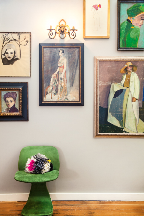 female portraits - Vintage & Contemporary