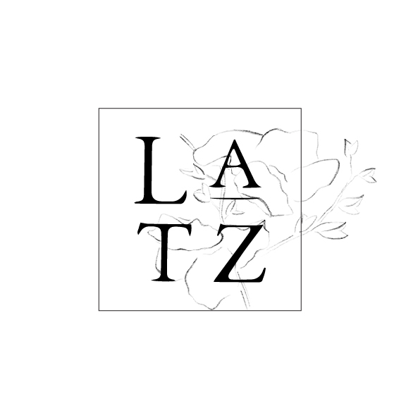 Secondary Logo II for Britt Latz by Drop Cap Design