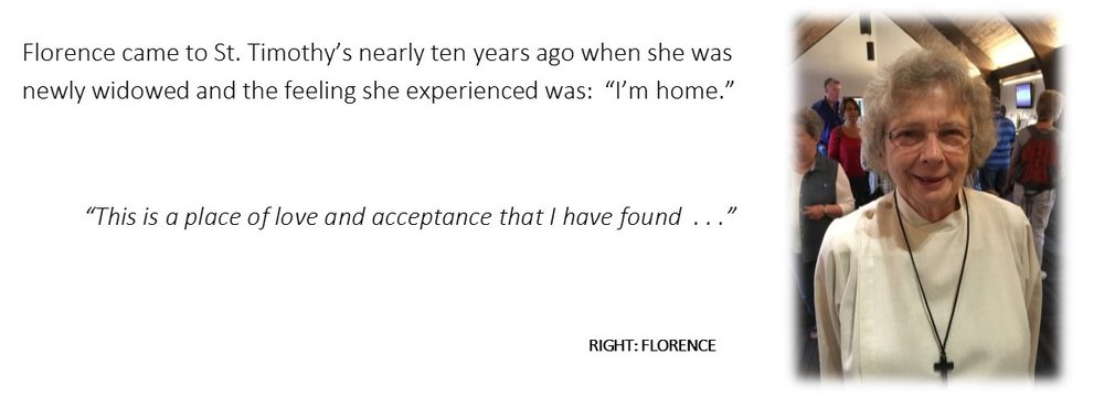 Listen to Florence's story here.