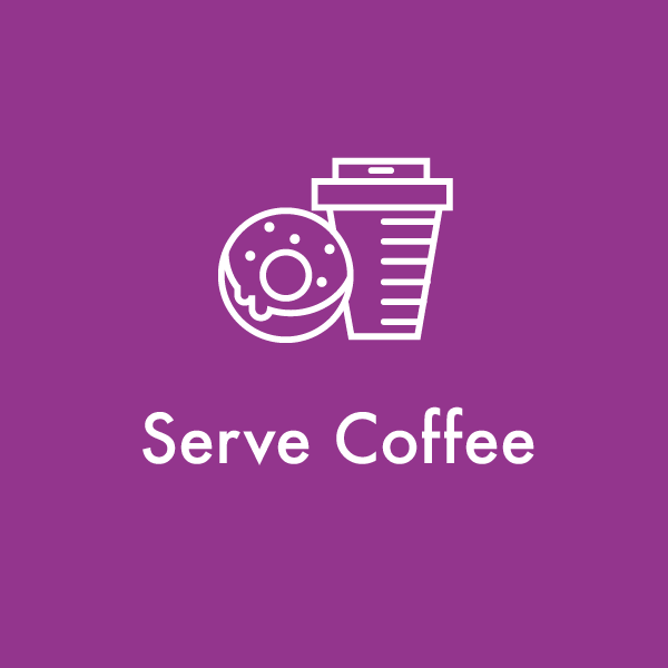 Serve Coffee