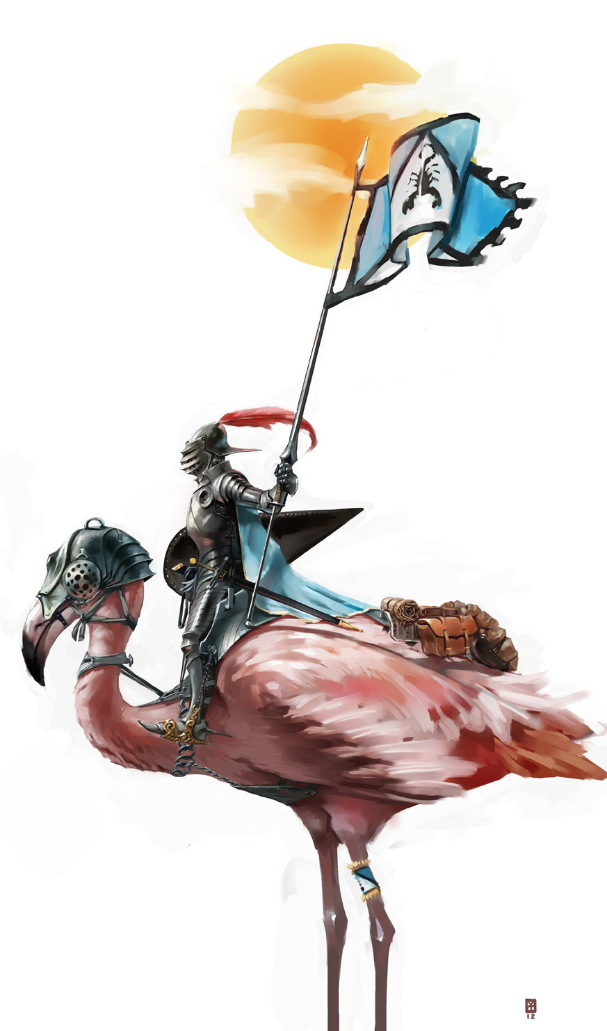 Flamingo Knight