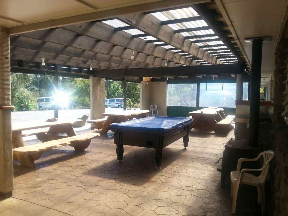 Before Photo of Recreational Area and Pool Table