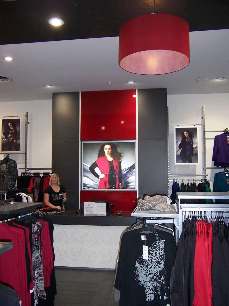 Retail Interior Design Feature Pendant Lights