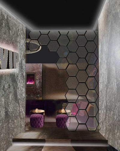 Club VIP Room Design Concept