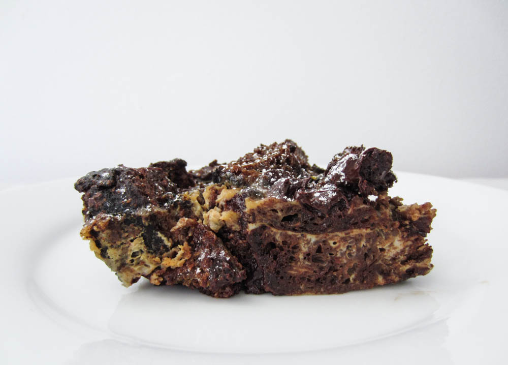 Chocolate Bread Pudding-14
